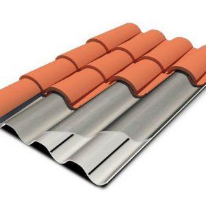 Plaques profilées en fibres-ciment